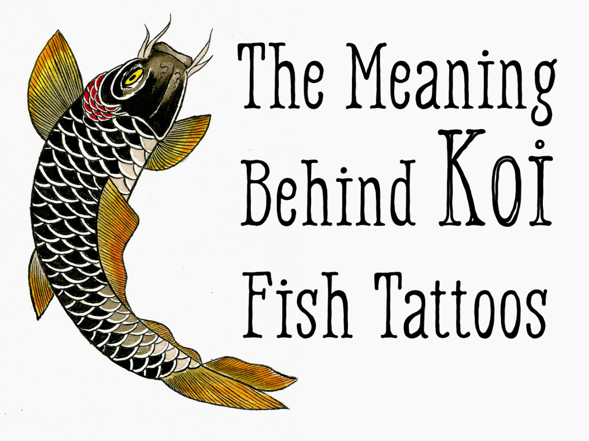 Find out the meaning behind koi fish tattoos of different colors and orientations.