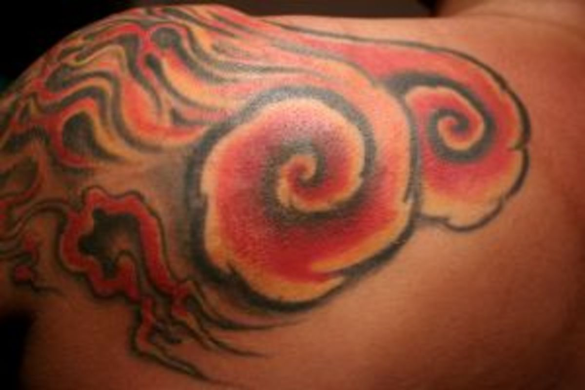 A Flame Tattoo