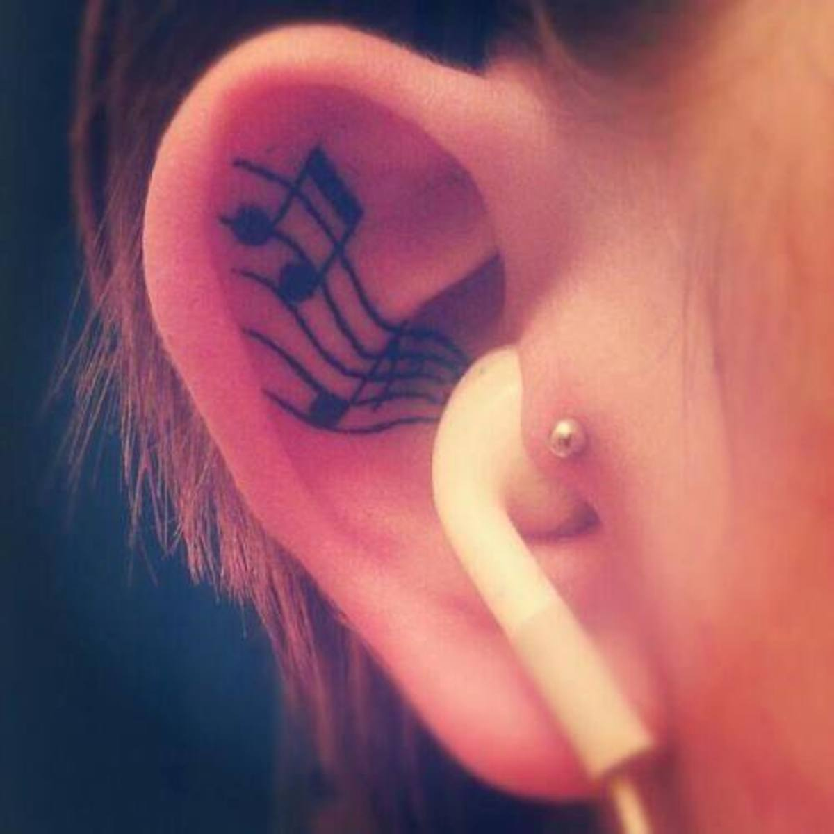 music within the ear