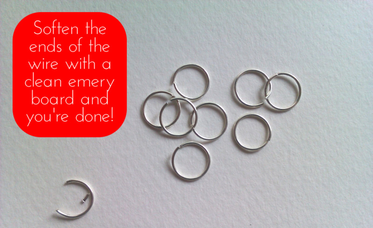Handmade nose rings