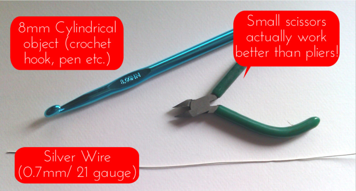 What you need to make your own nose ring
