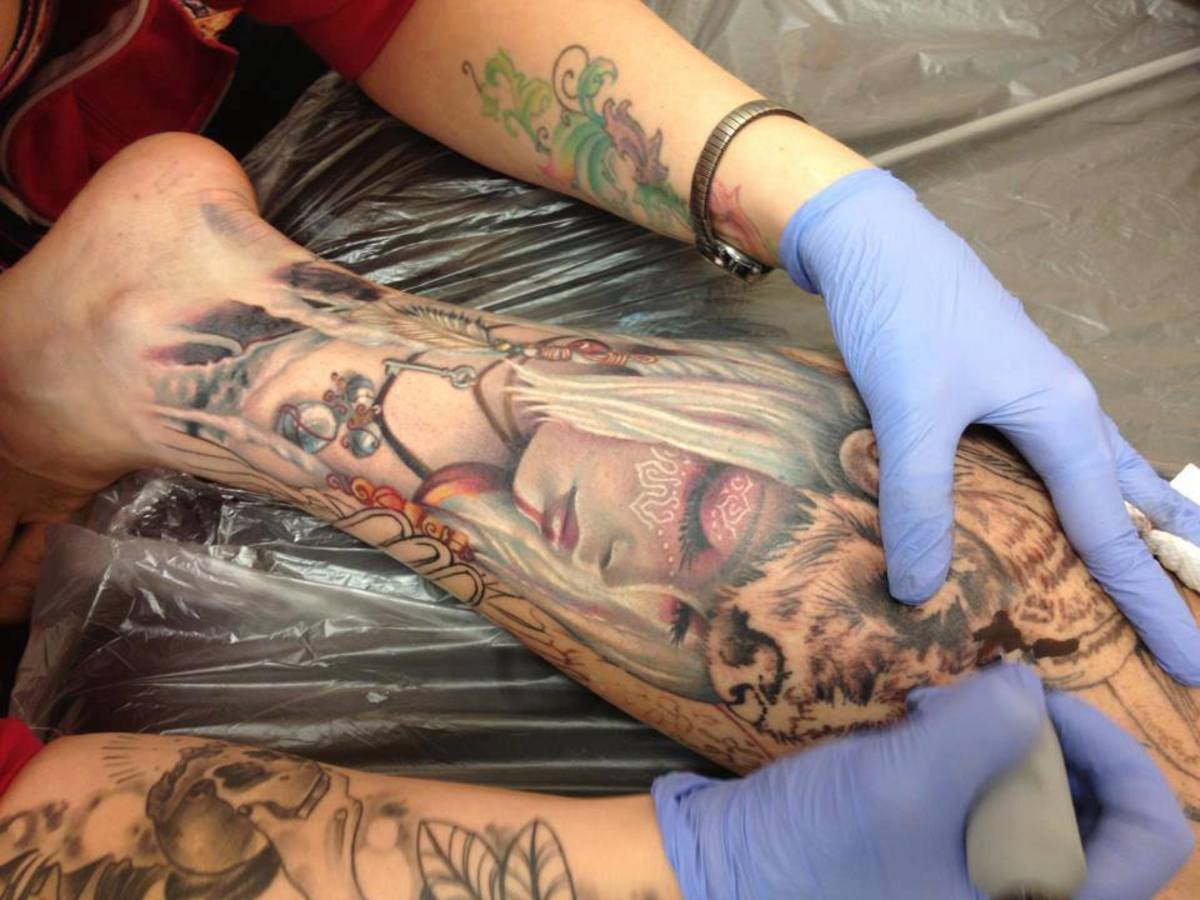 d0de7c395f Does It Really Hurt to Get a Tattoo? How Do I Stop the Pain of a New ...