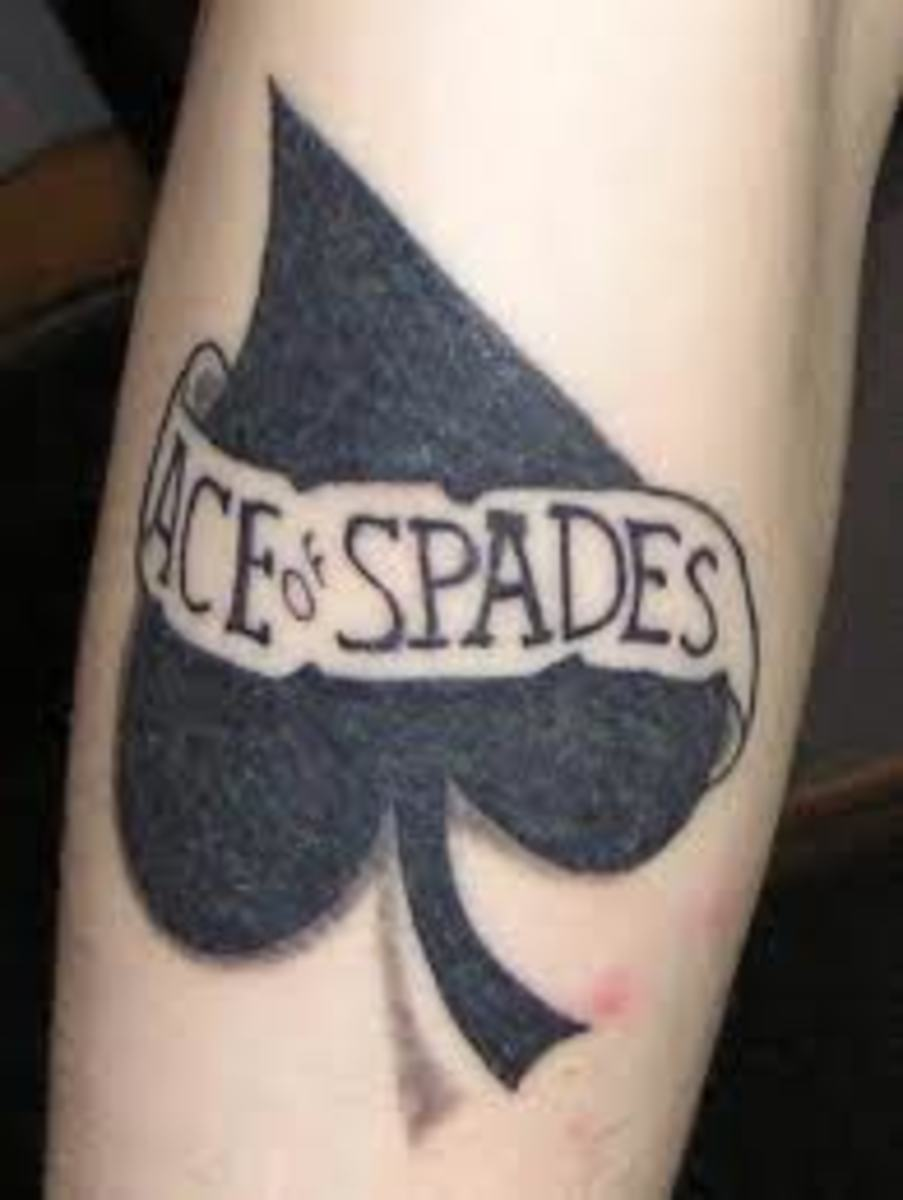 Spade and Ace of Spade Tattoos: Meanings, Designs, and Ideas | TatRing