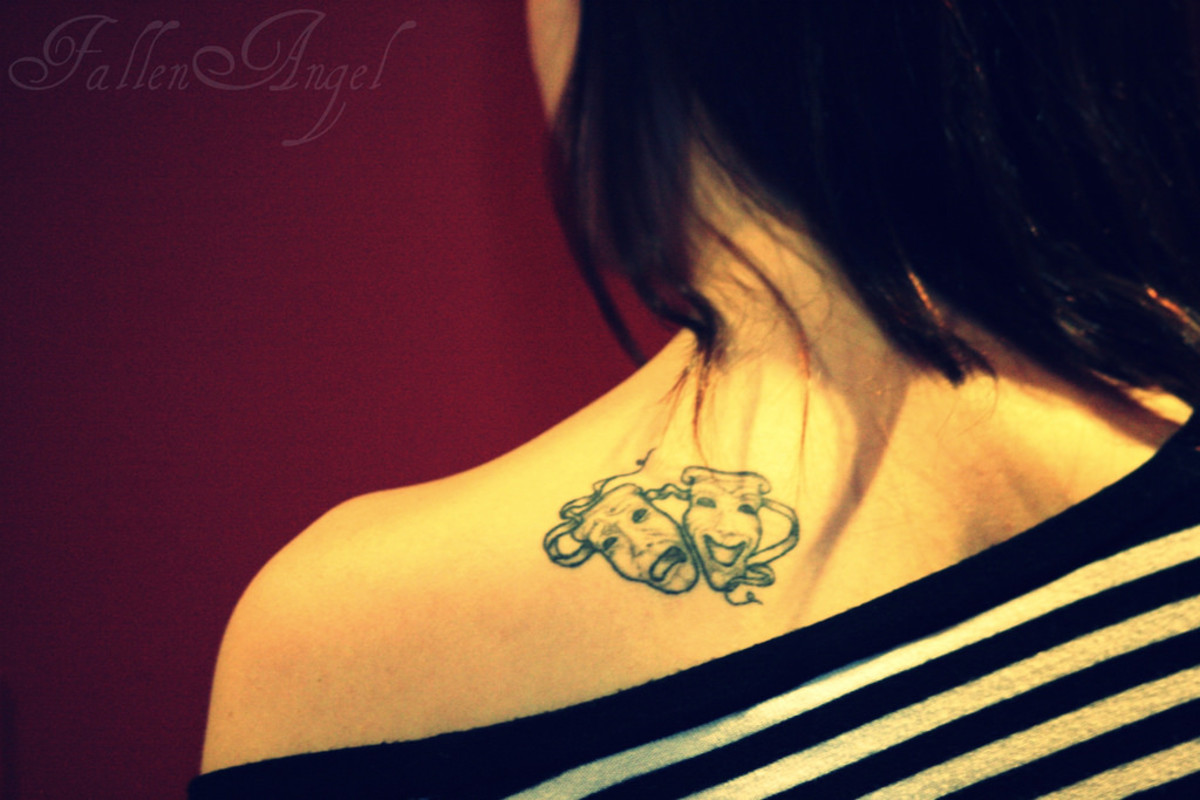 Laugh Now, Cry Later Tattoo Designs and Ideas