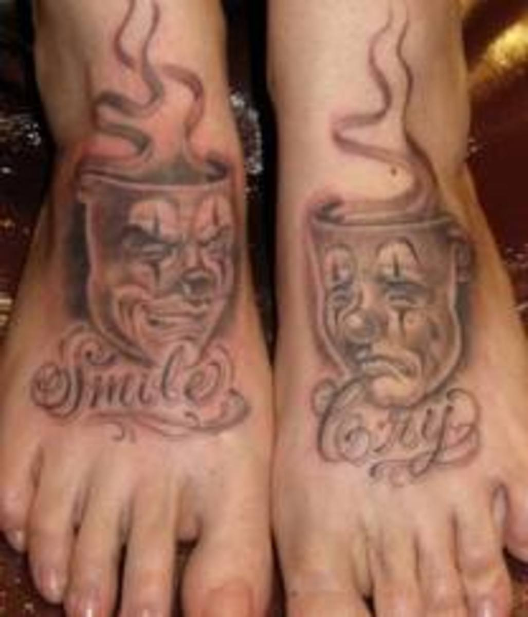 Laugh Now Cry Later Tattoo Designs And Ideas Tatring