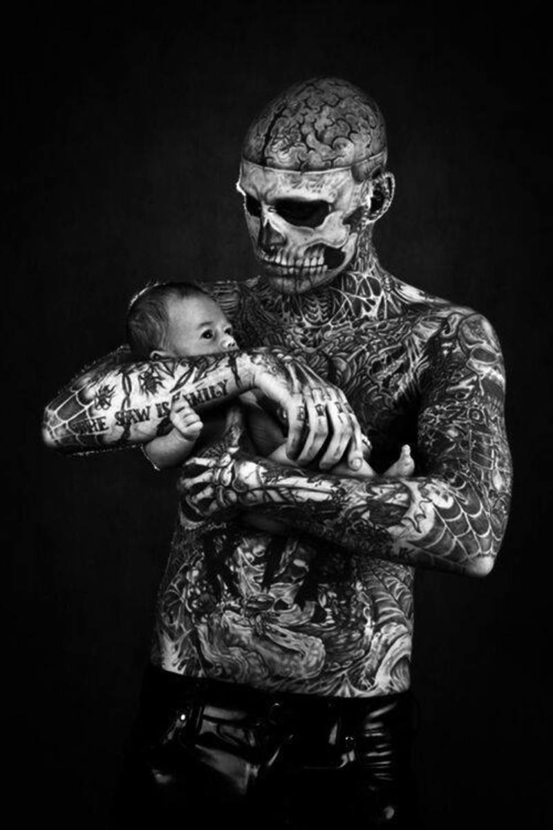 Remember, you have to live with your body art for the rest of your life (and your kids have to own you at school!).