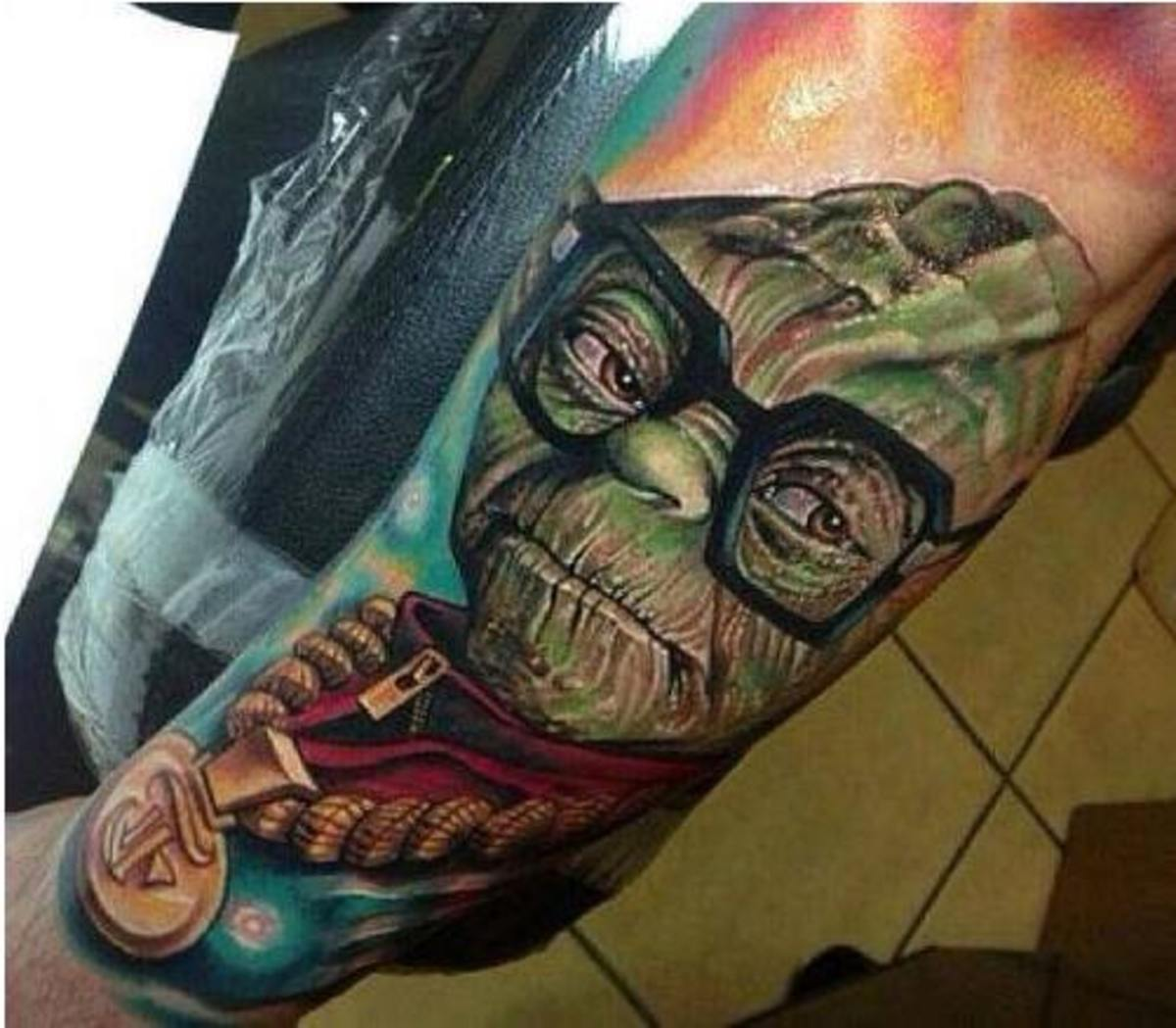 Character tattoo