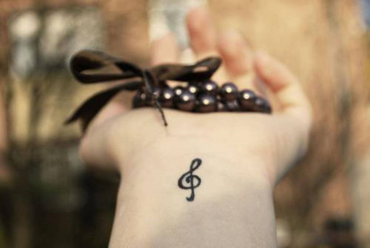Teeny tiny, a tattoo like this would take no more that 15 mins. But expect to pay for an hour session anyway.