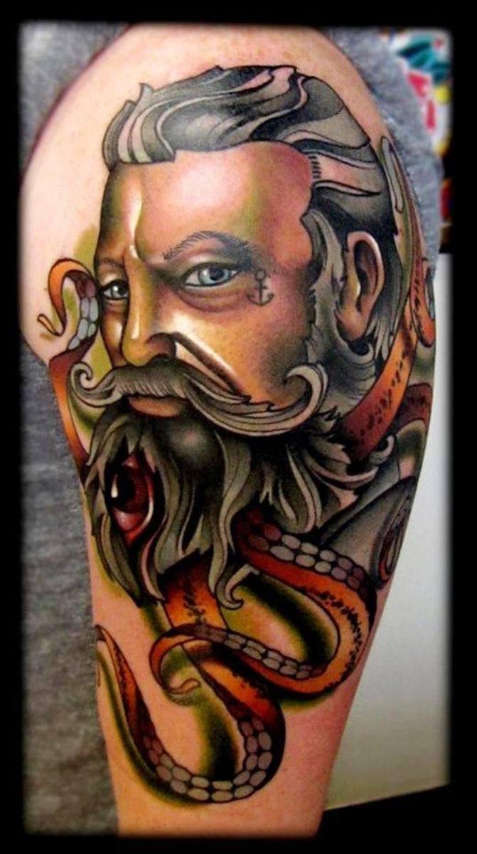Old School tattoo. 6 hours.