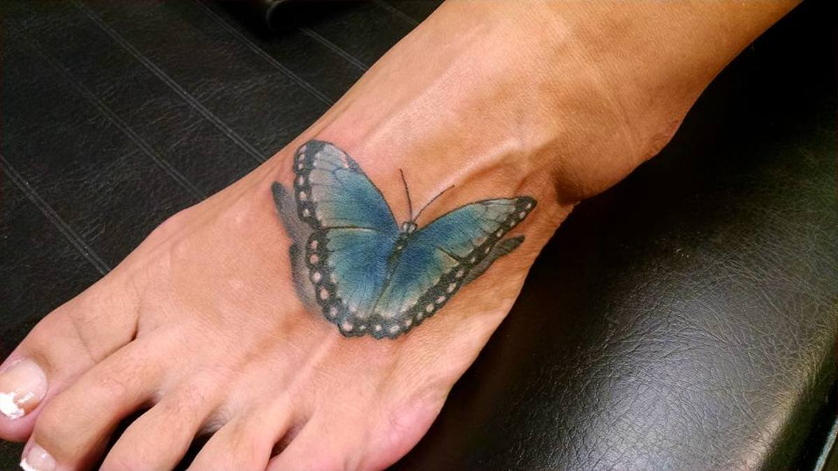 If you are uncertain of your pain tolerance level, start out with a small tattoo.