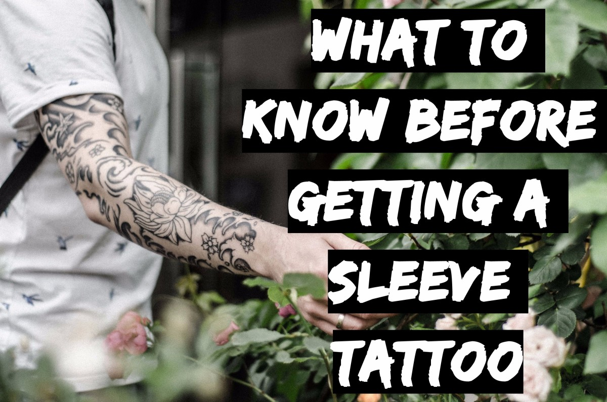 5463a28269968 Getting a sleeve tattoo is a huge commitment that requires more planning  and time than a typical piece of body art. You cannot impulsively choose an  image ...