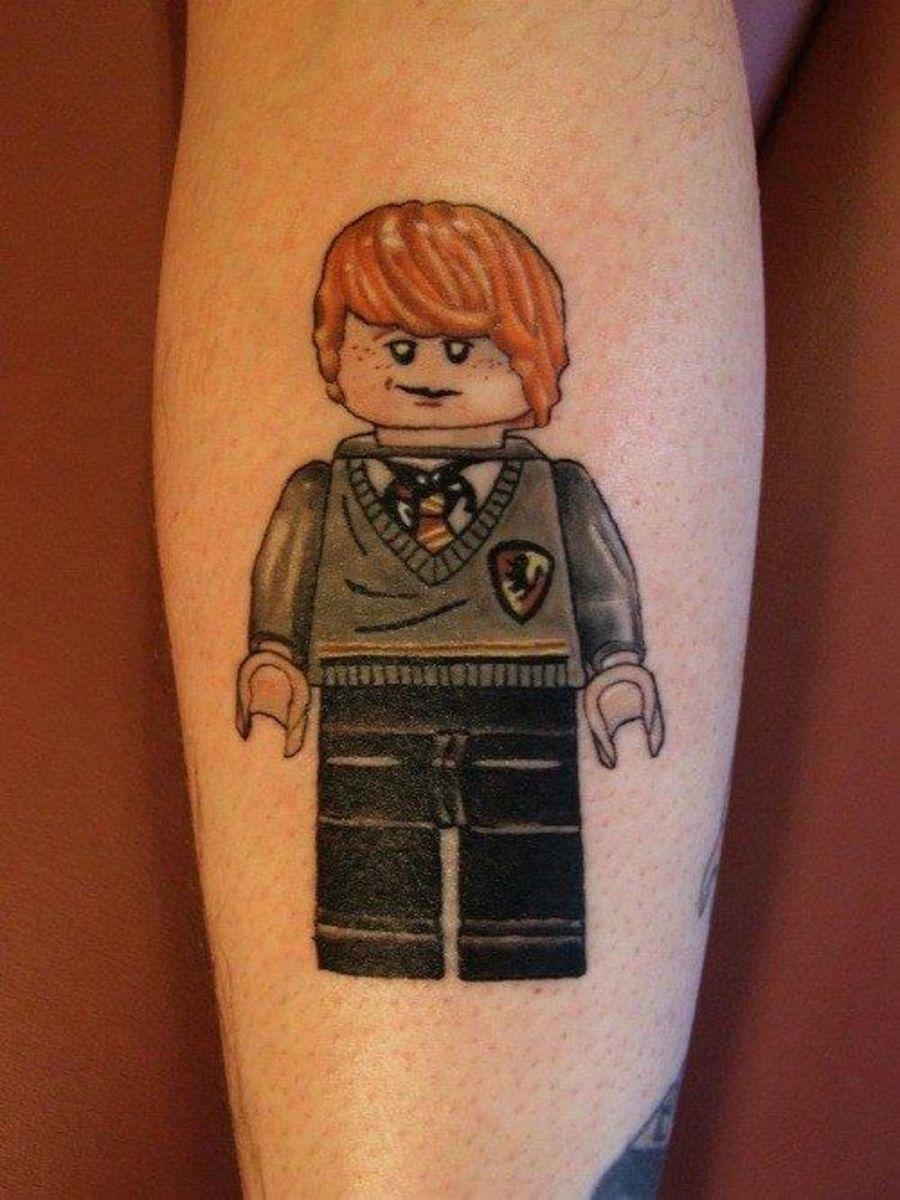 Ron Lego tattoo
