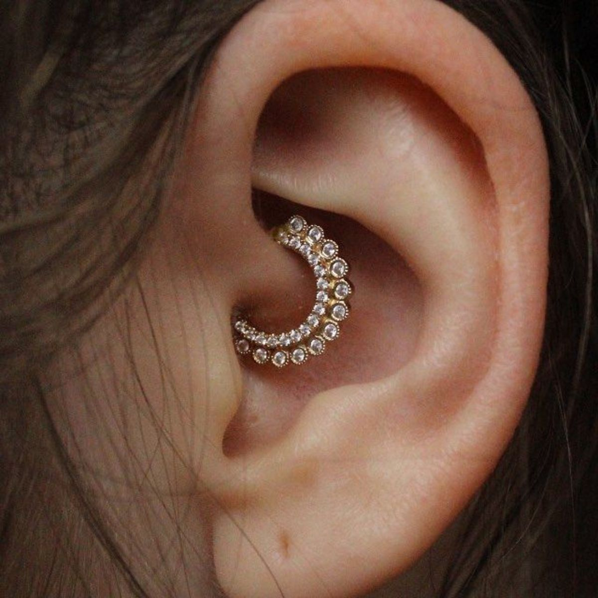 What can you do about an infected daith piercing?