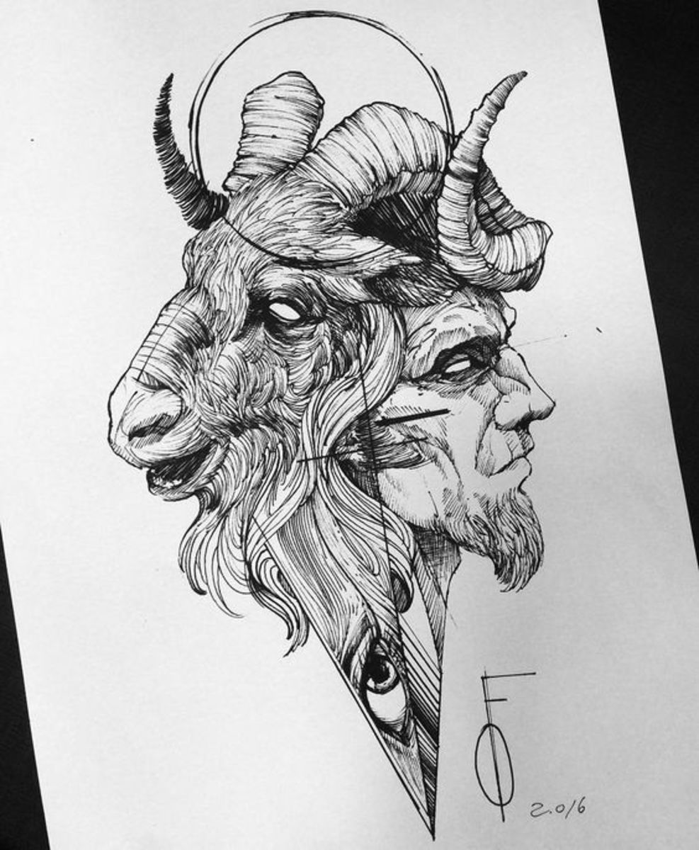 Aries tattoo for men by Fredão Oliveira
