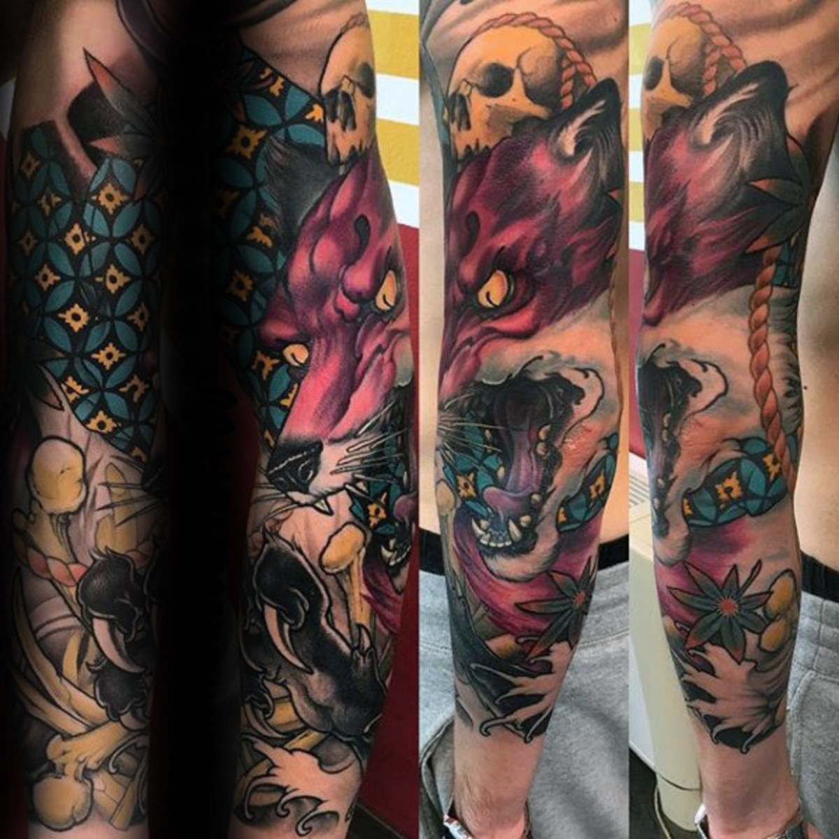 Kitsune Tattoos: Origins, Meanings, & Types of Japanese Fox