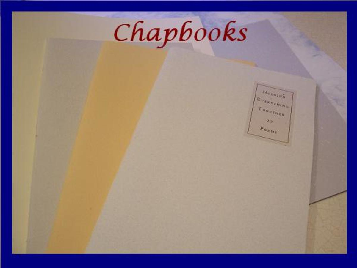poetry chapbook template - how to make a chapbook an illustrated step by step