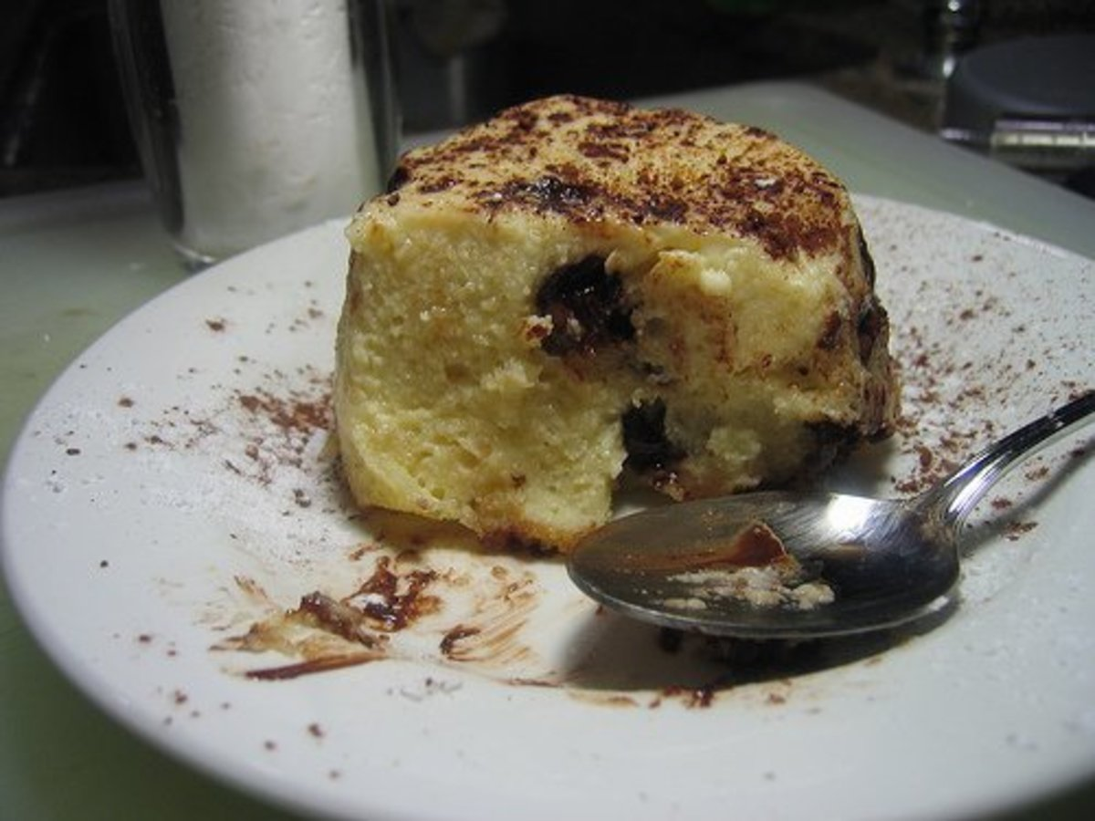 Amaretto Bread Pudding Recipe