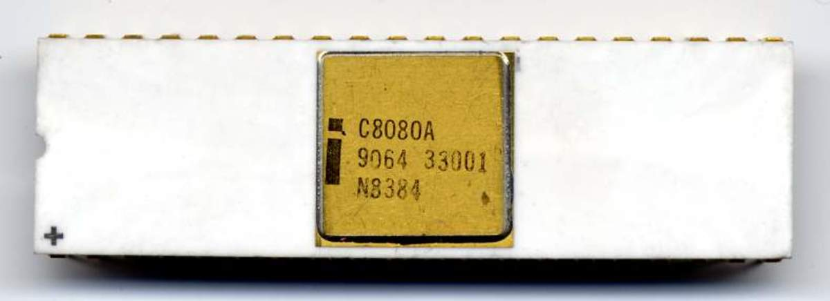 The first computers on a chip: Intel C8080