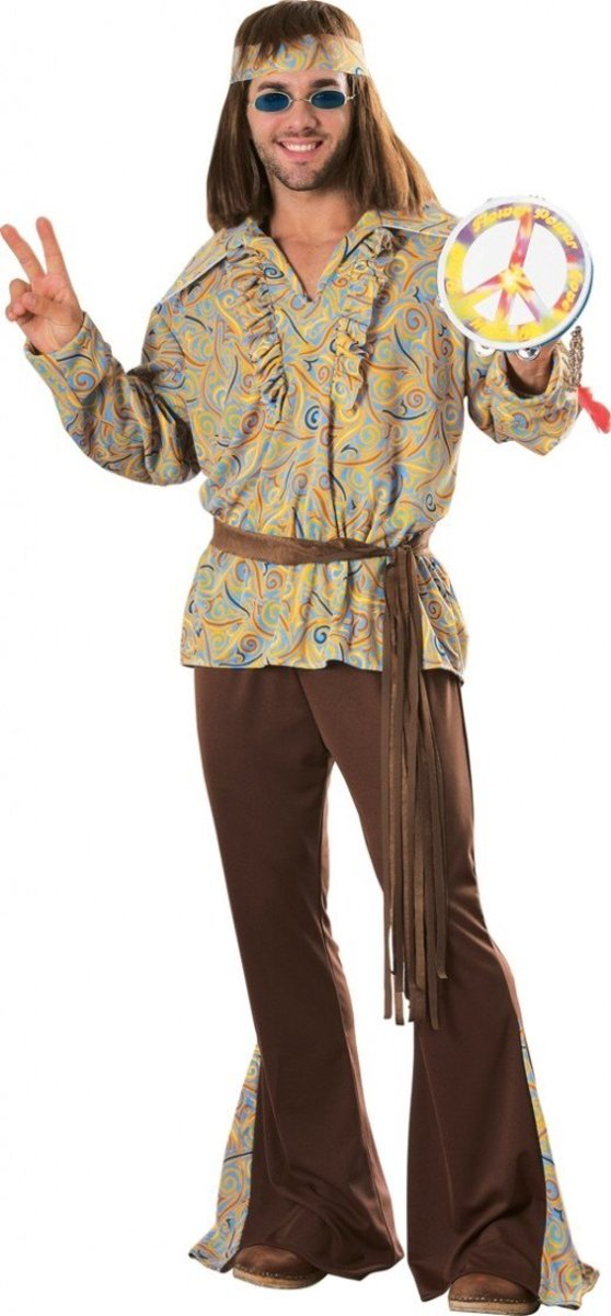 Hippie man costume  sc 1 st  Holidappy : childrens 70s costumes  - Germanpascual.Com