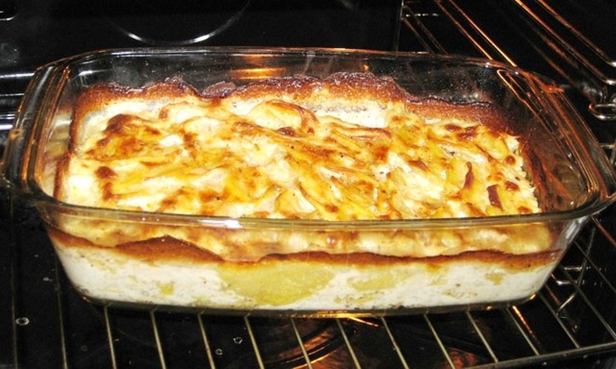 Easy, Cheesy Scalloped Potatoes Recipe