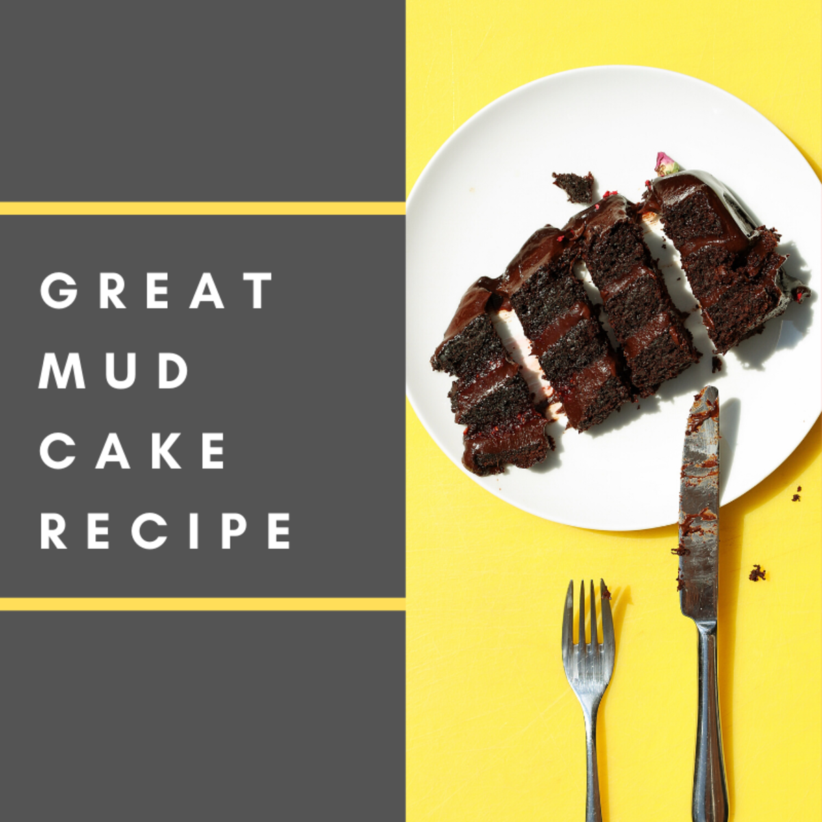 This mud cake is perfect for the whole family!