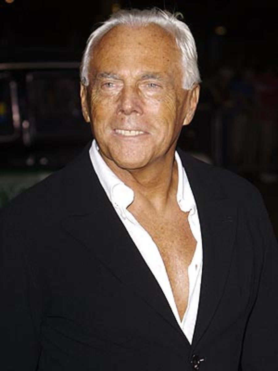 The Armani fashion house was founded in 1975 by Giorgio Armani. Born in  Piacenza 12b89cfb56802