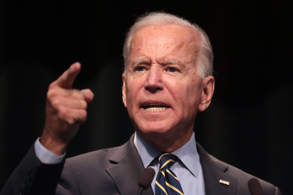 Former Vice President Joe Biden, candidate for President of the United States.