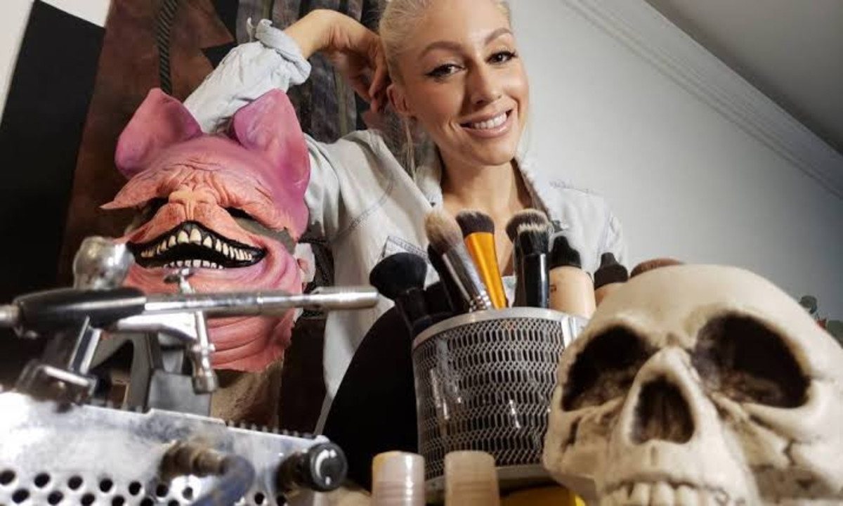 Renae Goodhew is one of the most in-demand VFX and makeup sorcerers in Hollywood. Horror is her specialty.