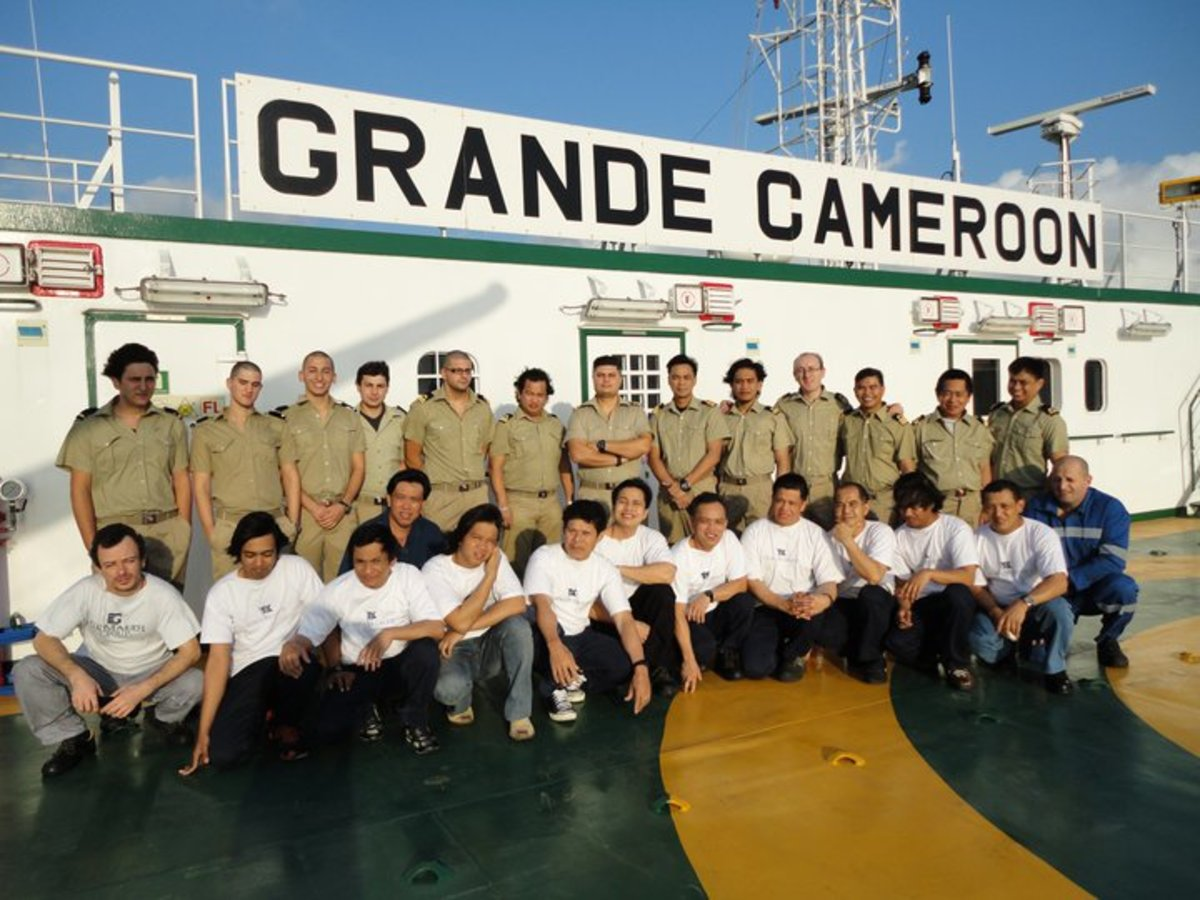 on board Filipino seamen
