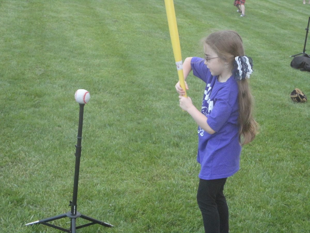 How to Teach Young Children Baseball - Hitting