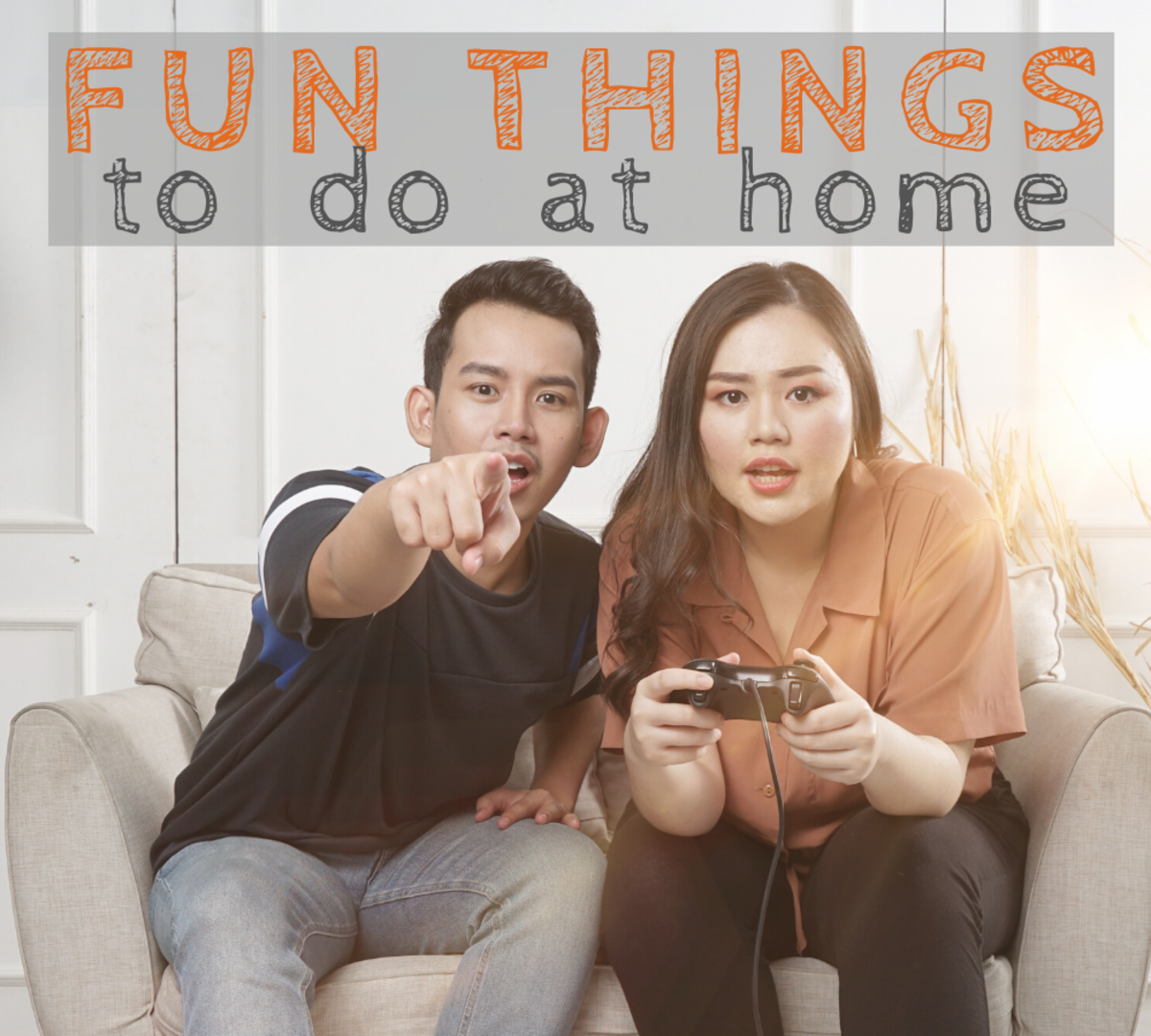Fun Indoor Activities for Couples Who Are Bored at Home