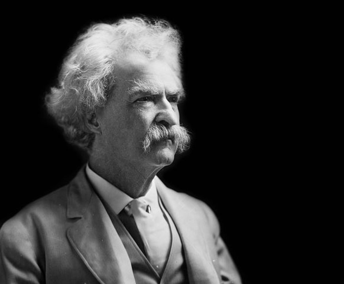 Mark Twain's books and stories are famous for their good-natured humor.