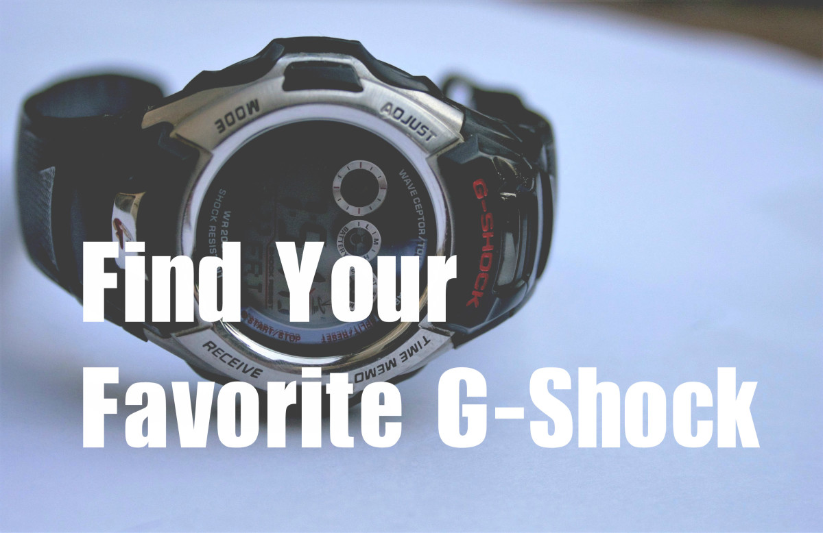 Review eight of the best Casio G-Shock watches, and see which one is right for you.