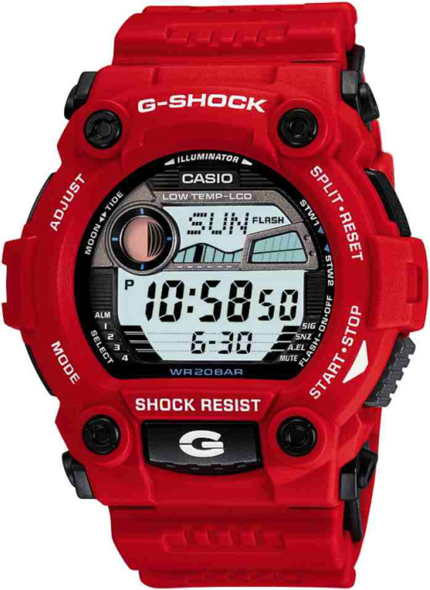 The G7900A-4, which is red.