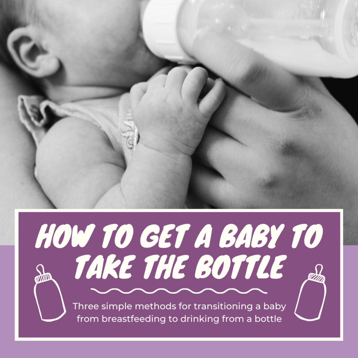 This guide will provide three different methods to help you transition a baby that is accustomed to breastfeeding to feeding with a bottle.