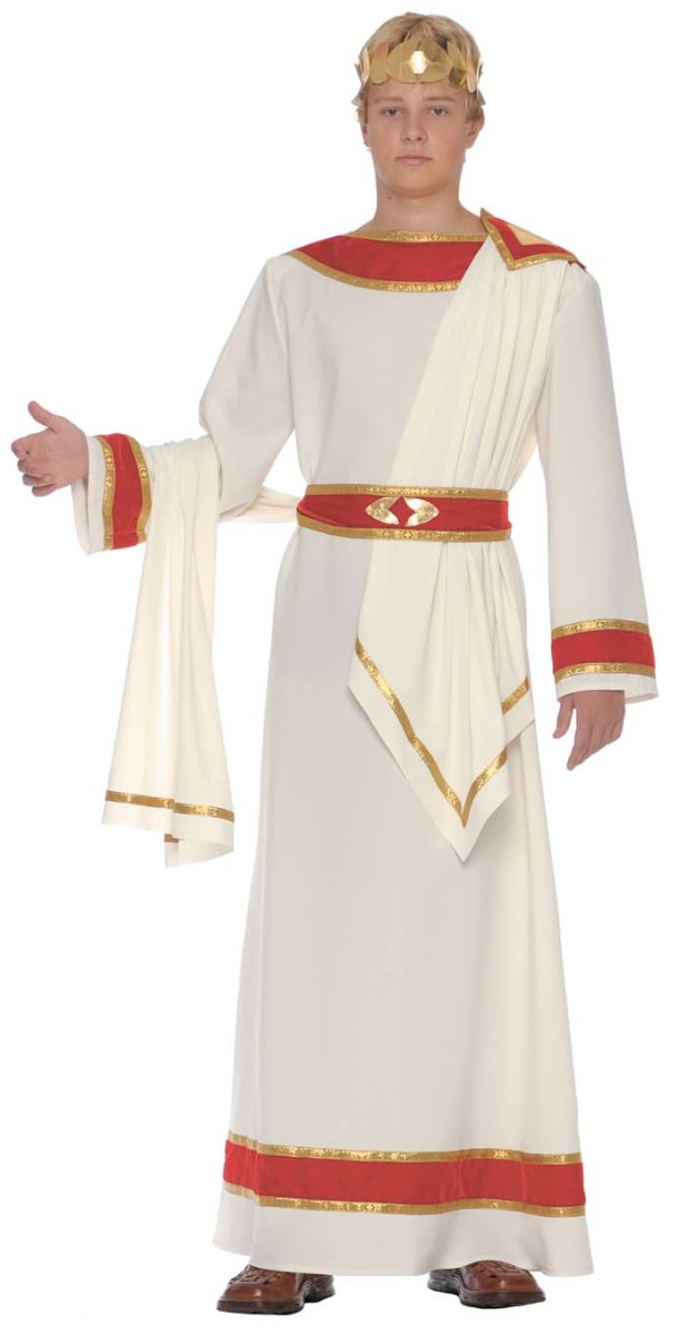 Caesar costume  sc 1 st  Holidappy : egyptian costume ideas homemade  - Germanpascual.Com