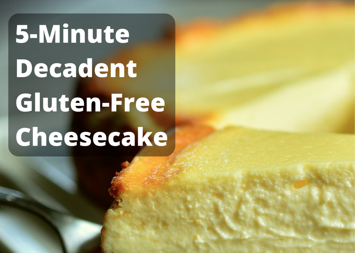 How to Make a Decadent Gluten-Free Cheesecake in 5 Minutes