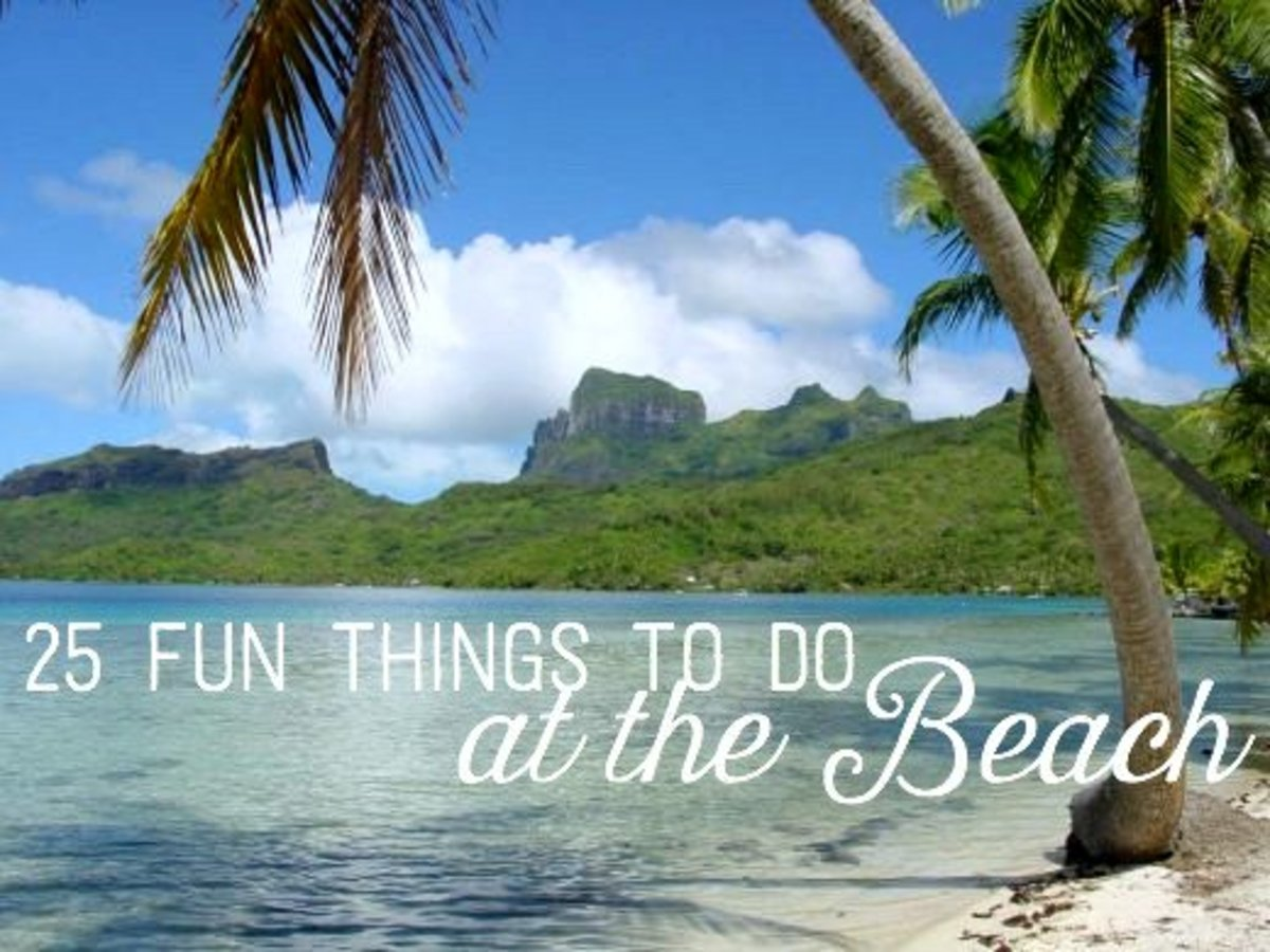 If you're tired of doing the same old things at the beach every year, this list will give you some new ideas.