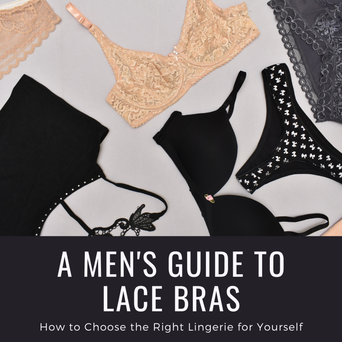 Men in Lingerie: Lace Bras for Men