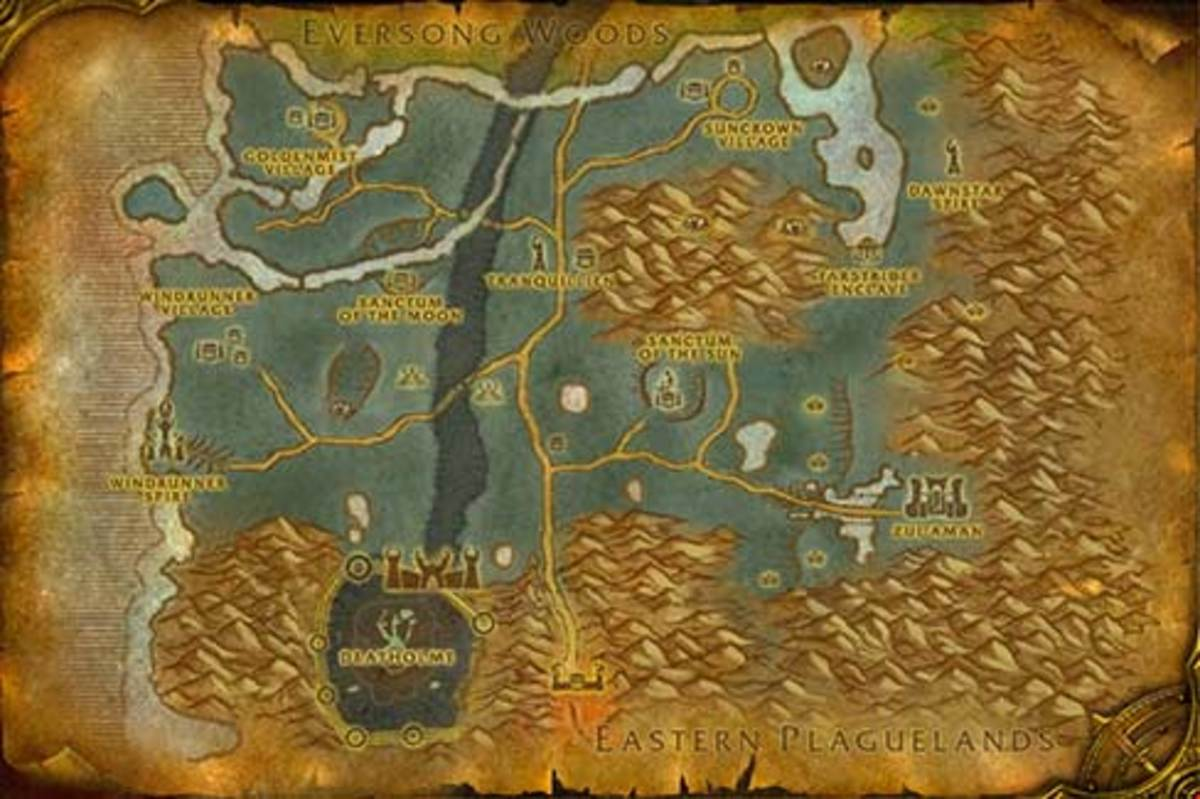 horde leveling guide ghostlands