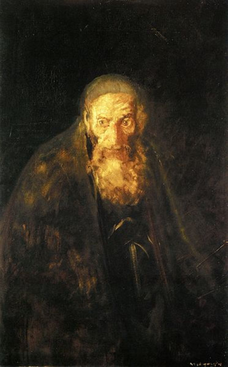 The villain Shylock, a character who embodies emotion unfettered by moral or intellectual contstraints.