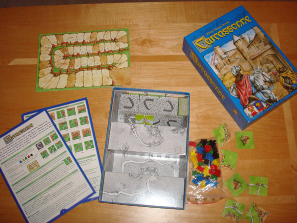 Learn How to Play the Board Game Carcassonne