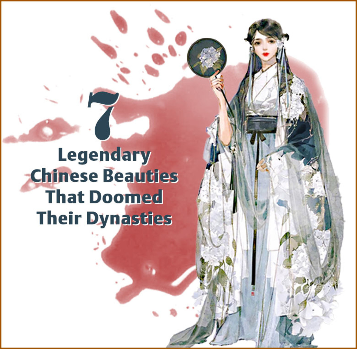 Several dynasties in Imperial Chinese history were destroyed because a ruler was infatuated with a legendary beauty.