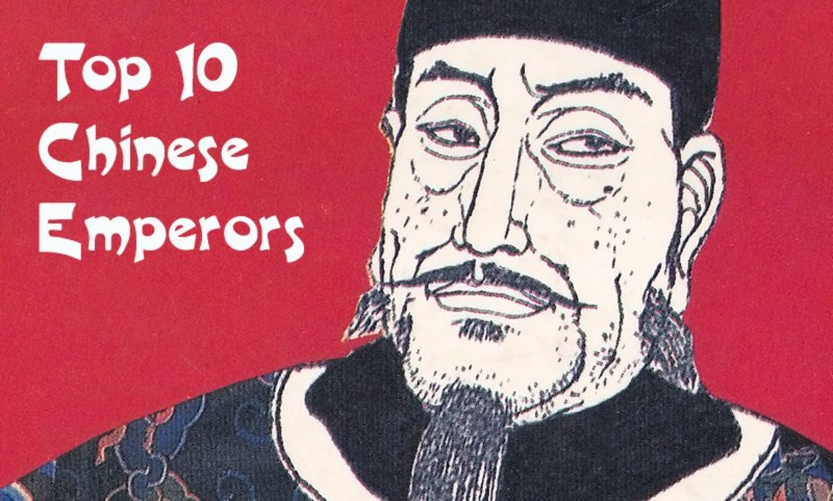 His Majesty, the Hongwu Emperor, founder of the Ming Dynasty. He is not on this list of greatest Chinese Emperors.