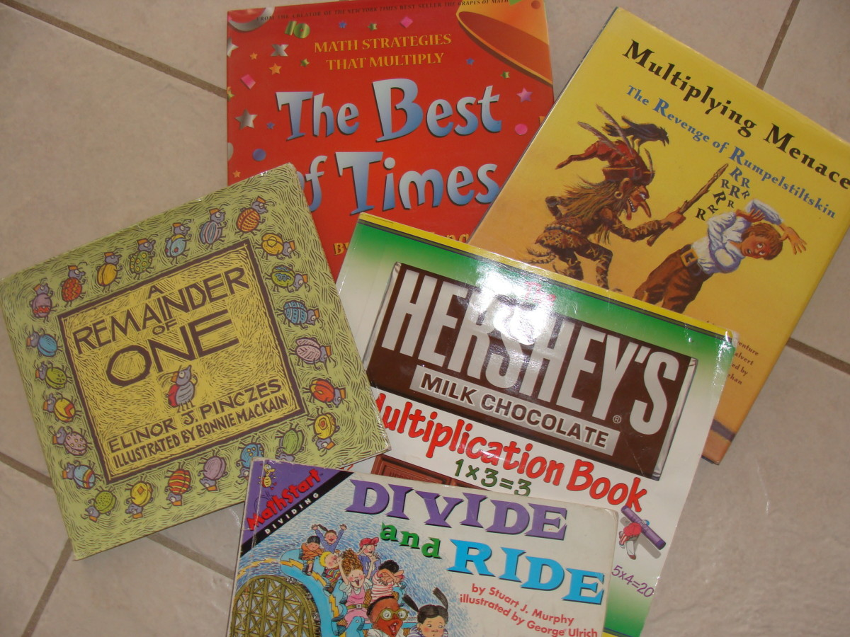 My Favorite Children's Books to Teach Multiplication and Division