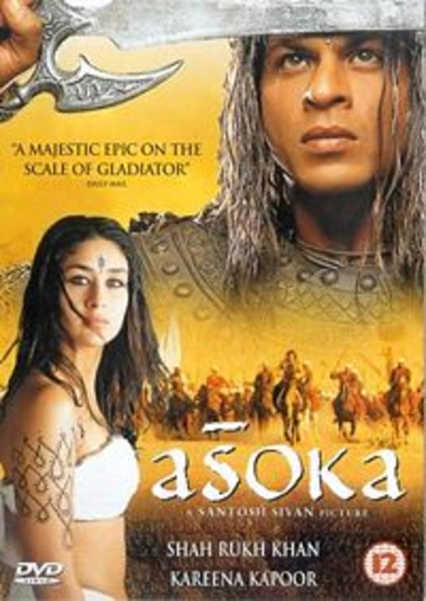 A movie made about Ashoka's life (2001)