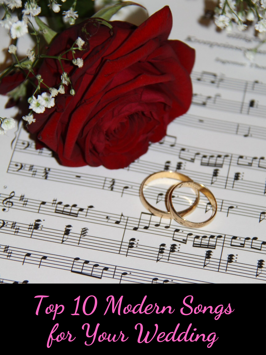This is a list of 10 wonderful songs to play at your wedding ceremony.