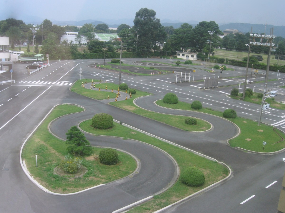 A driving licence centre in Toyokawa, Japan.