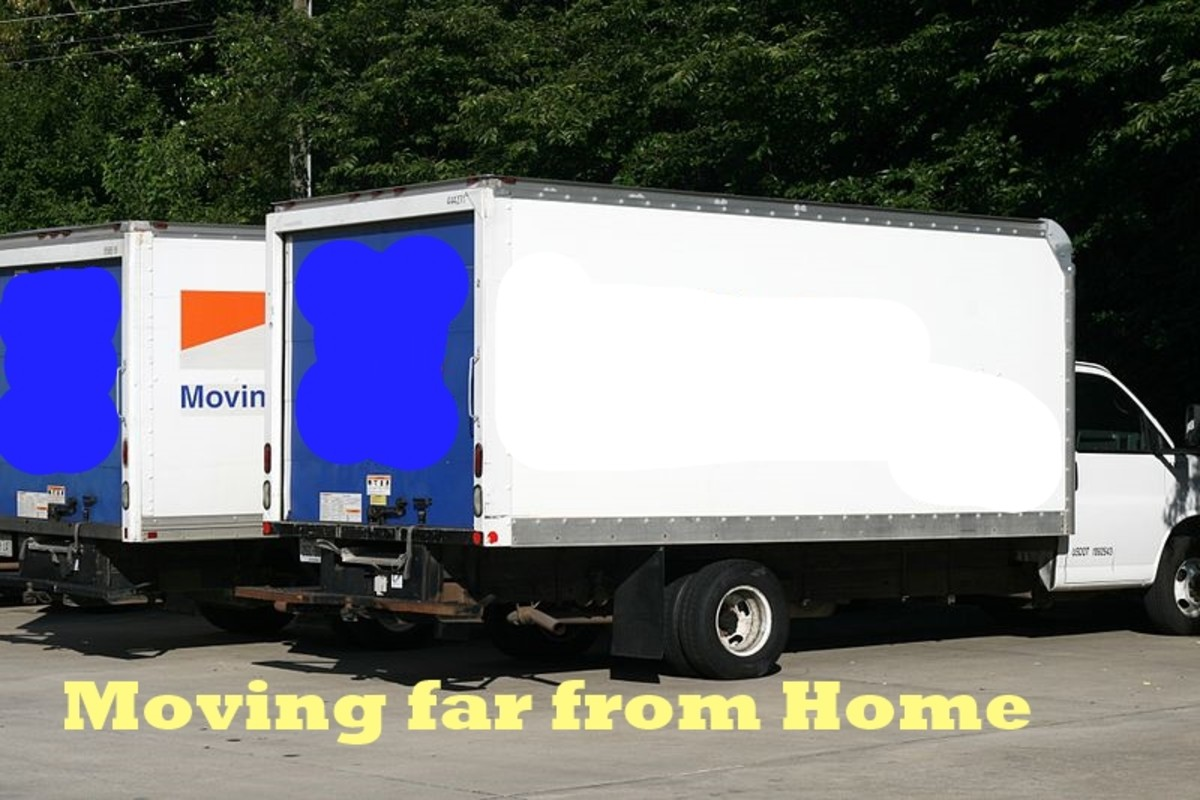 Do it yourself: Moving Away From Home