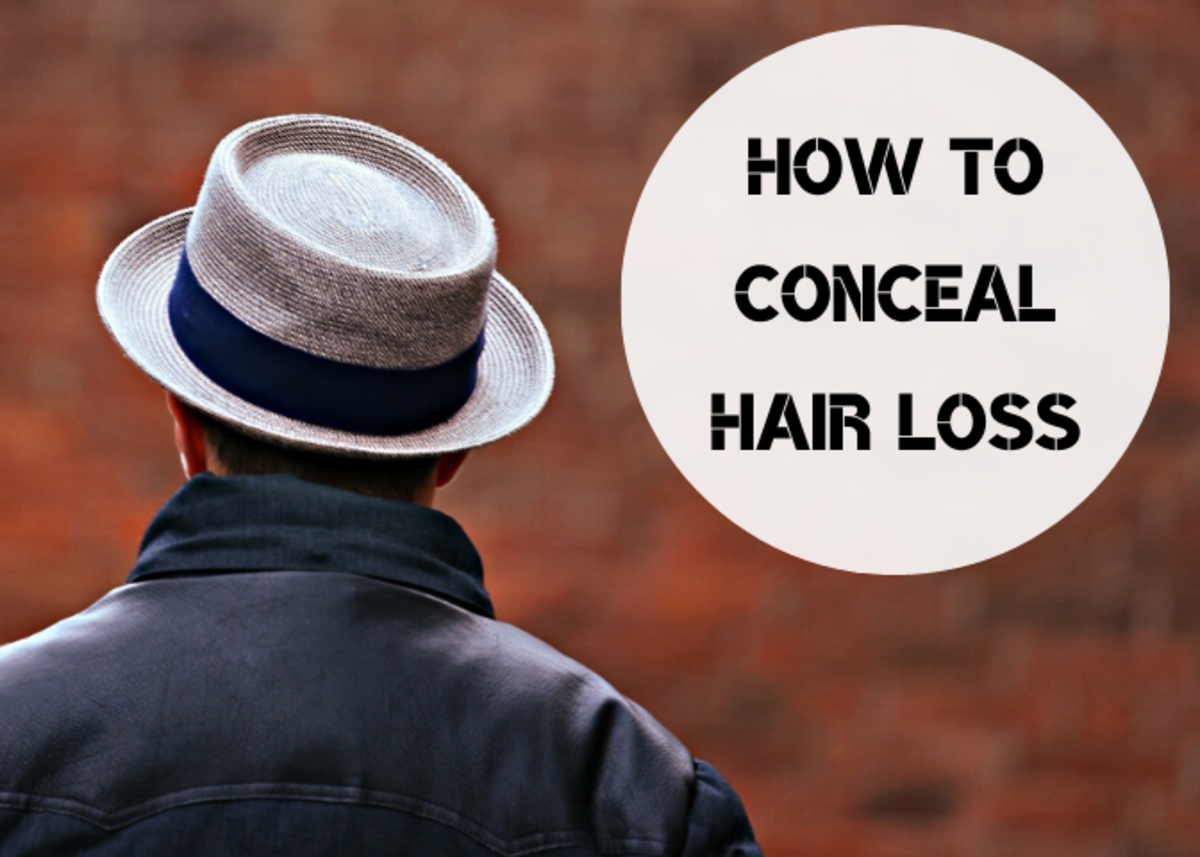 Get nine ideas for making your hair loss less noticeable.
